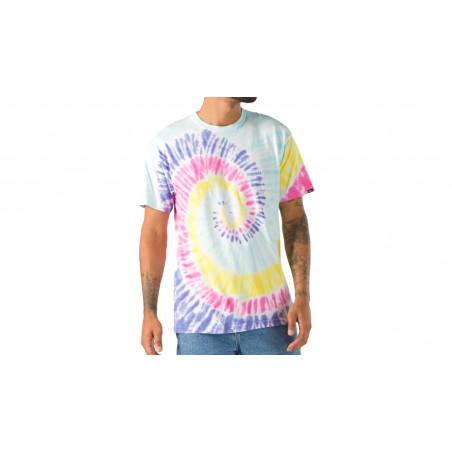 "Tee-Shirt Van's Spiral Tie & Dye ""Multicolore"""