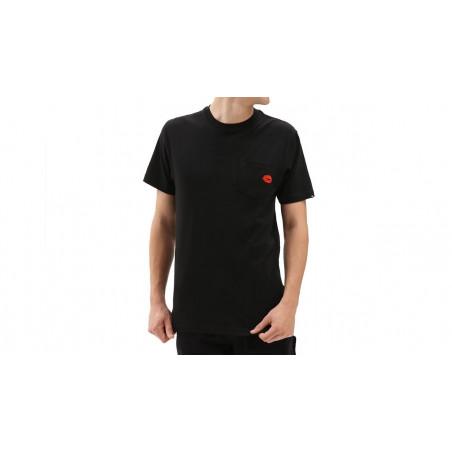 "Tee-shirt Lips Pocket Anaheim ""Black"""