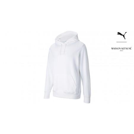 "Puma x Maison Kitsuné hoodie ""White"""