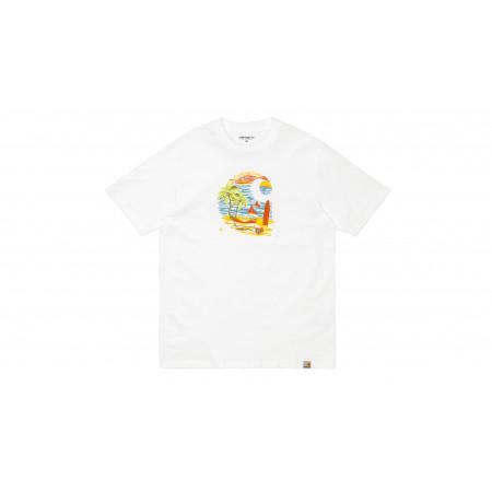 """Beach C Tee-shirt """"White"""""""