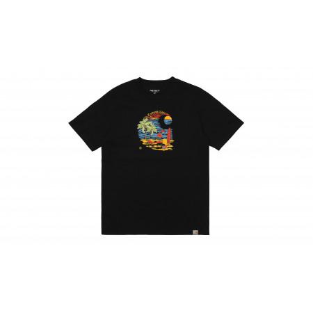 "Beach C Tee-shirt ""black"""
