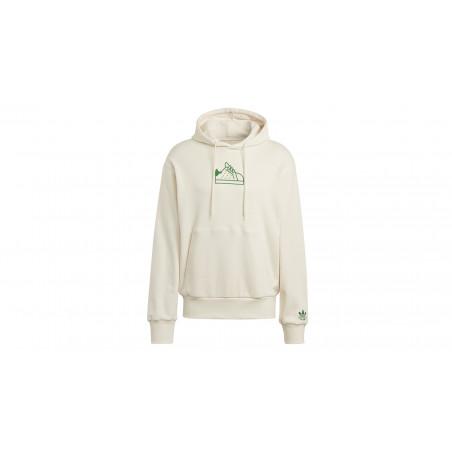 "Sweatshirt STAN SMITH en coton Bio ""Non Dyed"""