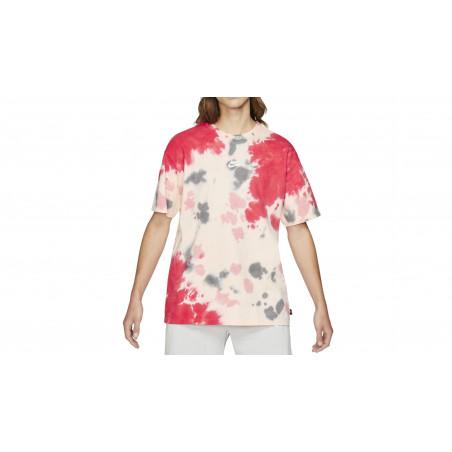 "NSW Tie & Dye Oversize Tee-Shirt ""SIREN RED / CRIMSON TINT"""