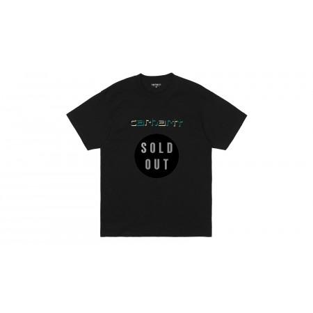 S/S shadow script tee-shirt...