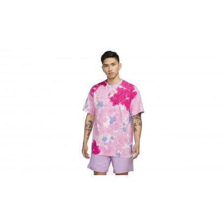 "NSW Tie & Dye Oversized Tee-Shirt ""PSYCHIC PINK / SAPPHIRE"""