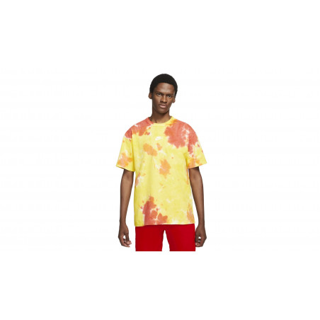"NSW Tie & Dye Oversized Tee-Shirt ""YELLOW STRIKE / TOTAL ORANGE"""