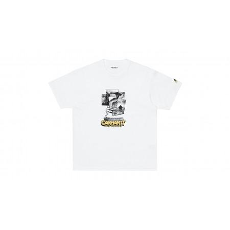 "S/S Exped Tee-Shirt ""White"""