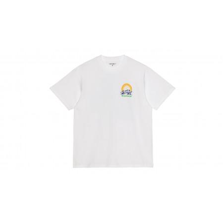 "S/S Mountain Tee-Shirt ""White"""