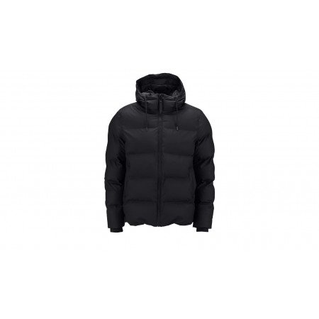 "Rains® Puffer Jacket ""Black"""
