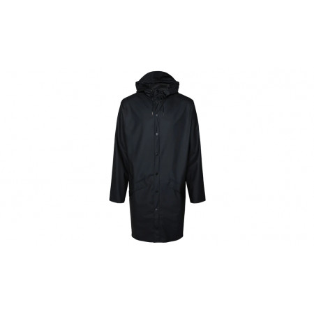 "Rains® Long Jacket ""Black"""