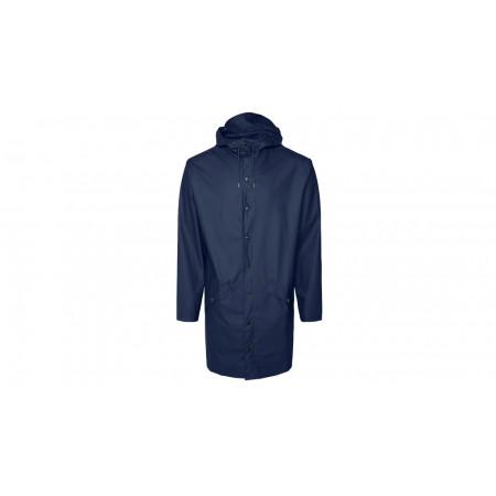 """Rains® Long Jacket """"Blue"""""""