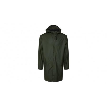 "Rains® Long Jacket ""Green"""