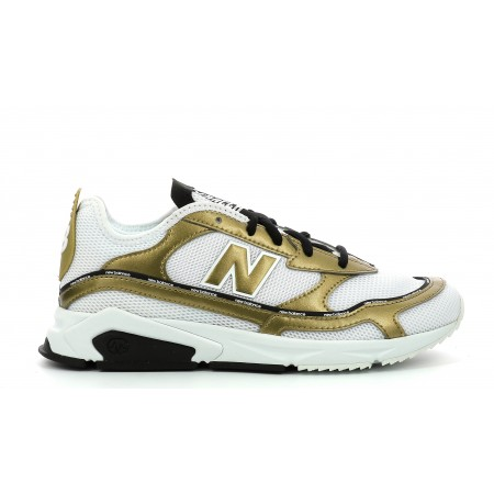 "X-RACER ""White / Gold"""