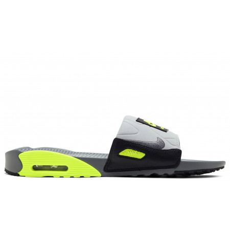 "AIR MAX 90 SLIDE ""Grey/Volt"""