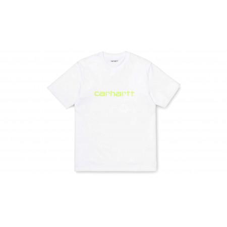 """Tee-Shirt Script """" White /..."""