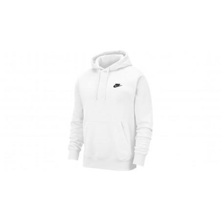 "Sweatshirt Hoody Club Fleece ""Blanc"""