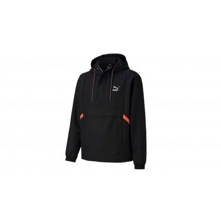 """Blouson Tailored for Sport """"Noir / Orange"""""""