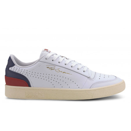 """Ralph Sampson Low Perforated Soft """"Navy"""""""