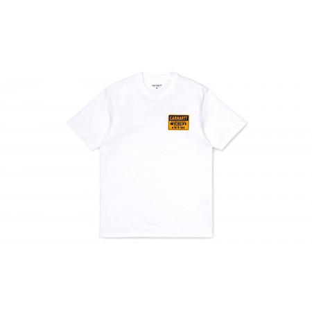 """Tee-Shirt Rattlesnakes """"Blanc"""""""