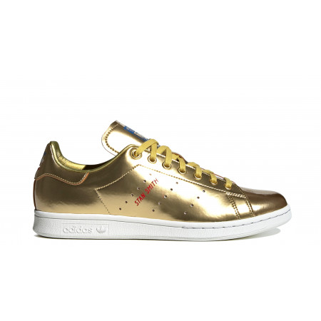 "STAN SMITH ""Gold Metallic"""