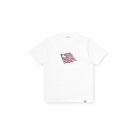 Tee-shirt US C ¨Blanc¨