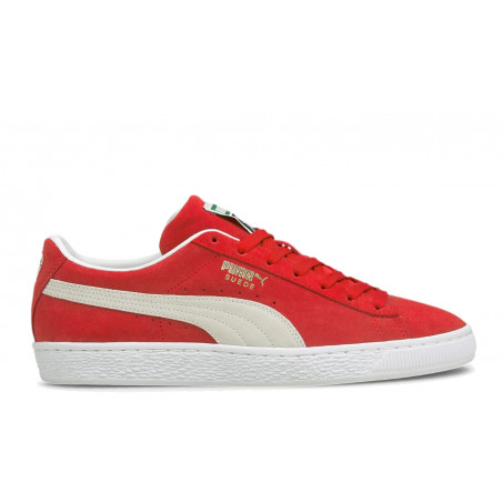 """SUEDE Classic XXI"""" High Risk Red / White"""""""