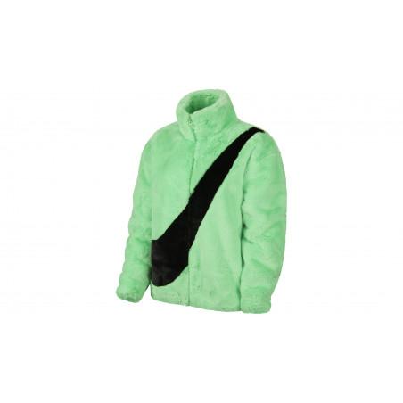 """Veste Femme Faux Fur """"Poison Green"""""""