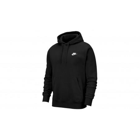 "Sweatshirt Hoody Club Fleece ""Black"""