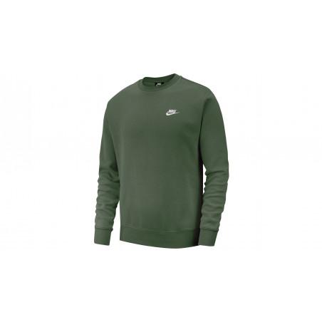 "Sweatshirt Crew Club Fleece ""GALACTIC JADE"""