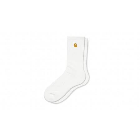 """Chase Socks """"White / Gold"""""""