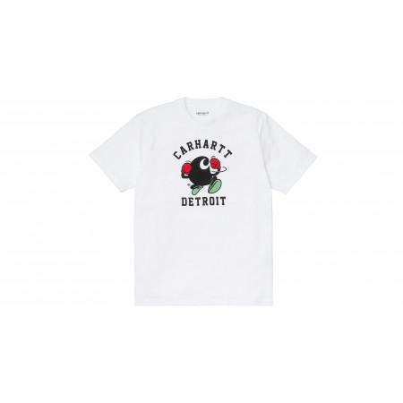 "S/S Boxing C T-shirt ""White"""