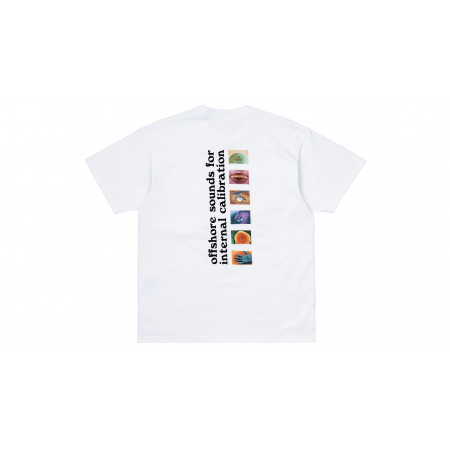 "S/S Calibrate T-Shirt ""White"""