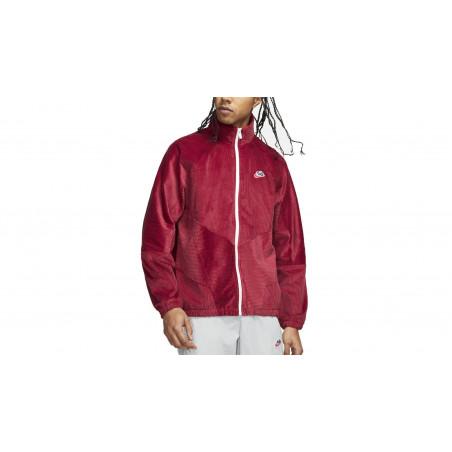 "Corduroy Jacket Nike Heritage ""Team Red / White"""