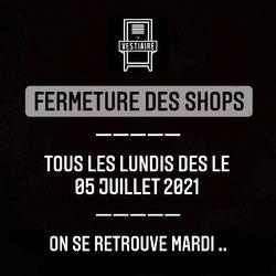 ⚠️ Horaires d'été ⚠️ Les shops seront fermés tous les lundis à compter du 05 juillet 2021. On se retrouve mardi .. —————————————————————————— • 5/7 Rue de Ladoucette 57000 METZ • 30 Rue Gambetta 54000 NANCY ——————————————————————————
